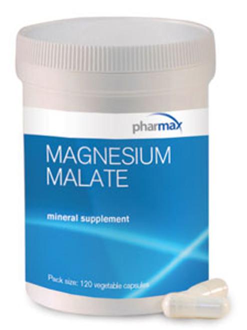 "PharMax --- ""Magnesium Malate"" --- 125 mg Magnesium Malate - 120 Veggie Caps"