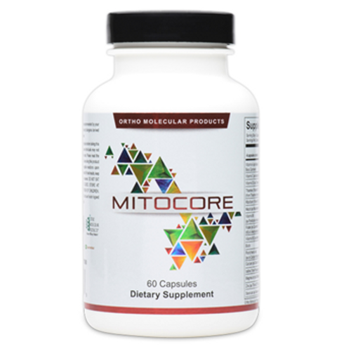"""Ortho Molecular --- """"Mitocore"""" --- Mitochondrial & Detoxing Support - 60 Caps"""