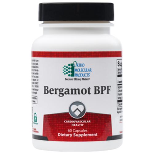 "Ortho Molecular --- ""Bergamot BPF"" - Cholesterol Lowering Supportive Flavonoids - 60 Caps"