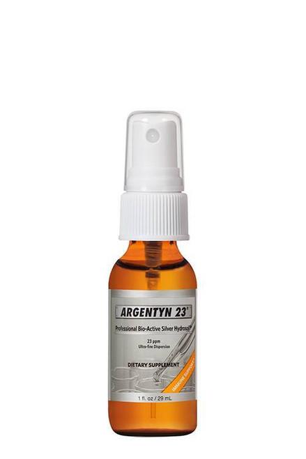 Natural Immunogenics' Argentyn-23 THROAT SPRAY (2 fl oz)