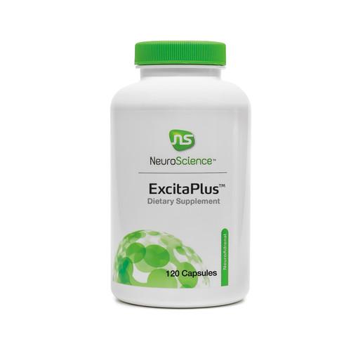 "NeuroScience   ----  ""ExcitaPlus"" ---  Adrenal & Fatigue  Support Formula - 120 Caps"