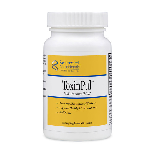 """Researched Nutritionals  ---  """"ToxinPul"""" --- Detox Support & Toxin Binding (GMO free) - 90 Caps"""