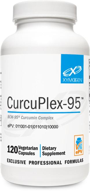 """Xymogen ---  """"CurcuPlex-95™"""" ---   Curcumin Complex - 60 or 120 Veggie Caps"""