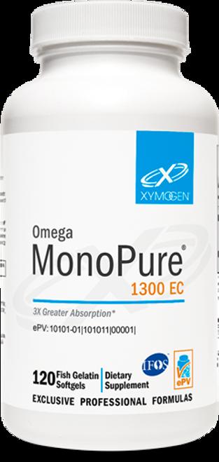 "Xymogen   ---  ""Omega MonoPure® 1300 EC"" ---  High Potency Omega-3  - 120 Fish gelatin"