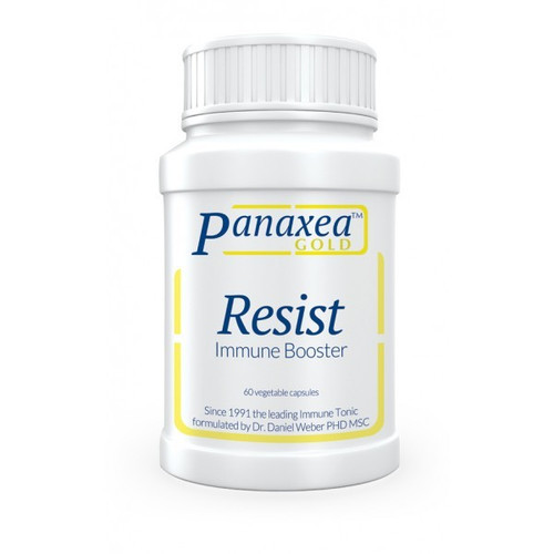 """Panaxea Gold Label   ---  """"Resist"""" ---  A Powerful Immune Support & Anti-Microbial Herbal Formula - 60 Caps"""