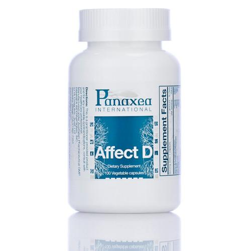 "Panaxea   ---  ""Affect-D""  ---  Mood Support - 100 Caps"