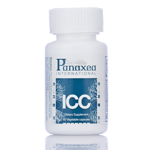 """Panaxea   ---  """"ICC"""" --- Inflammation Control Support - 60 Caps"""