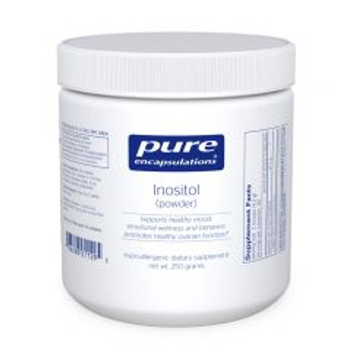 "Pure   ---  ""Inositol Powder"" --- for PCOS, PMDD, OCD, Panic Or Depression - 250 gram/tub"