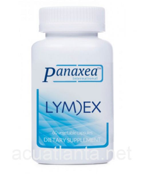 """Panaxea   ---  """"Lyme)Ex"""" --- Natural Spirochete Anti-Microbial Support - 60 Caps"""