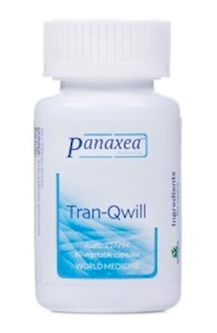 """Panaxea   ---  """"Tran-Qwill"""" --- Tension Relief Support - 60 Caps"""