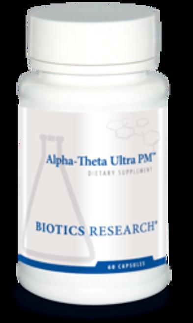 "Biotics --- ""Alpha-Thema Ultra PM"" --- Anxiety & Sleep Support - 60 Caps"