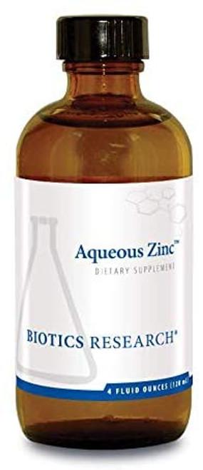 "Biotics --- ""Aqueous Zinc"" --- Immune Support - 4 Fluid Ounces"