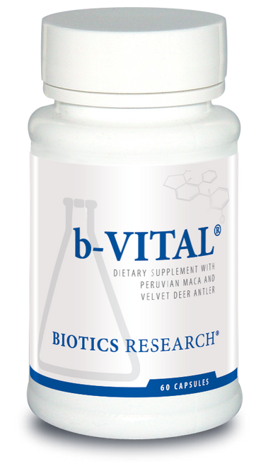 "Biotics ---  ""b-Vital"" --- Male Testosterone Boosting Formula - 60 Caps"