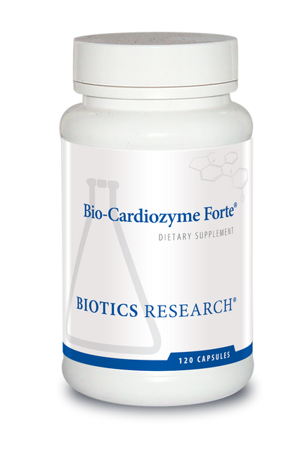 "Biotics --- ""Bio-Cardiozyme Forte"" --- Supreme Cardiovascular Support - 120 Caps"