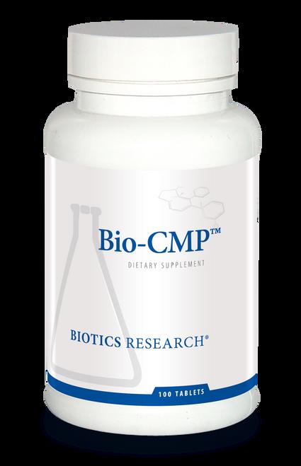 """Biotics --- """"Bio-CMP"""" --- Calcium + Magnesium + Potassium Mineral Support - 100 Tabs"""