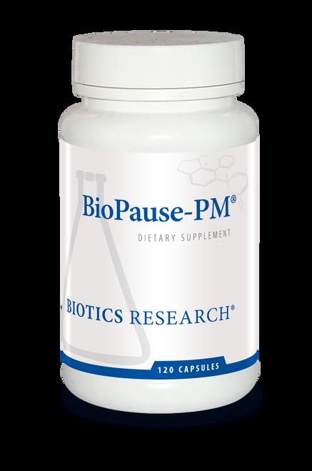 """Biotics --- """"BioPause-PM"""" --- Menopausal Evening Support - 120 Caps"""