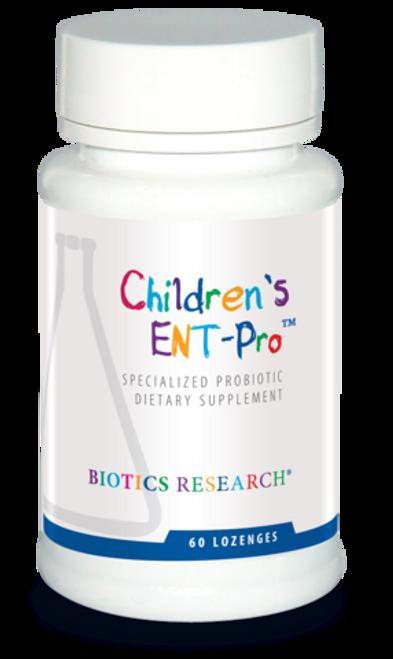 "Biotics --- ""Children's ENT-Pro"" --- Probiotics for Healthy Ears, Nose & Throat - 60 Lozenges"