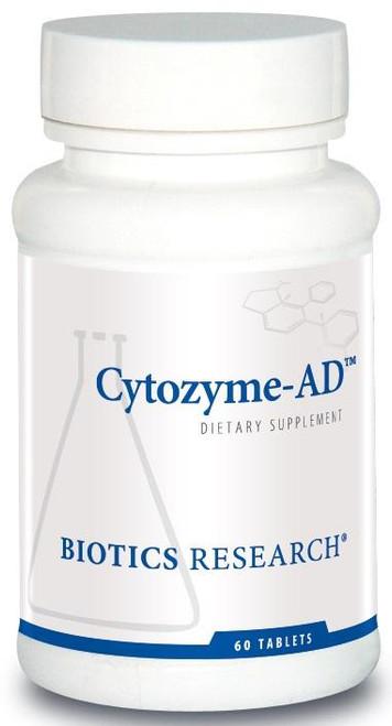 "Biotics --- ""Cytozyme-AD"" ---  Adrenal & Fatigue Support - 60 Tabs"