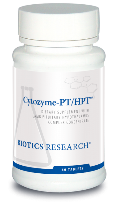 "Biotics --- ""Cytozyme-PT/HPT"" --- Pituitary-Hypothalamus Support - 60 Tabs"