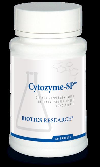 "Biotics   --- ""Cytozyme-SP"" --- Spleen Support - 60 Tabs"