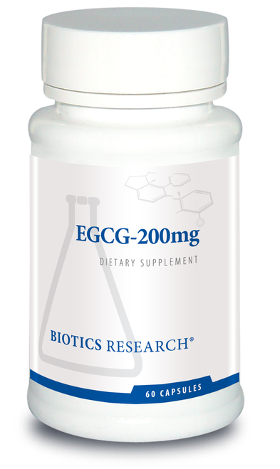 "Biotics  ---  ""EGCG-200 mg"" ---  High Dose Catechin - 60 Veggie Caps"
