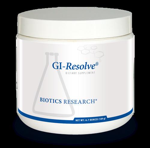 "Biotics  ---  ""GI-Resolve"" ---  Restoring Gastrointestinal Health Blend - Thirty Servings ( 6.7 Ounces;189g)"