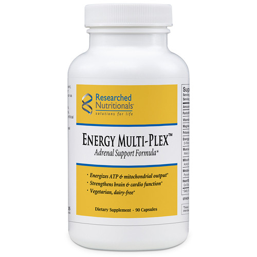 "Researched Nutritionals  ---  "" Energy Muli-Plex"" Supreme Adrenal Formula - 90 Caps"