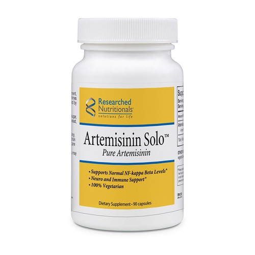 "Researched Nutritionals  ---  ""Artemisinin Solo"" ---  Anti-Protozoa Herb - 90 Caps (GMO Free)"