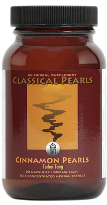 "Classical Pearls ---  ""Cinnamon Pearls"" --- TCM Respiratory & Food Allergy Support - 90 Caps"