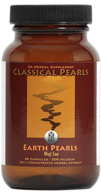 """Classical Pearls ---  """"EARTH PEARLS"""" --- TCM Spleen Channel Support - 90 Veggie Caps"""