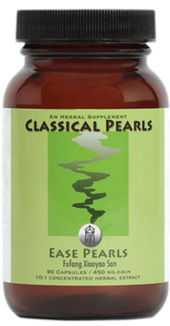 """Classical Pearls ---  """"Ease Pearls"""" --- Be  """"UnSTUCK""""  Support Formula - 90 Veggie Caps"""