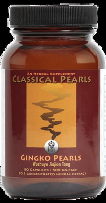 "Classical Pearls ---  ""Ginkgo Pearls"" --- TCM Addiction Blockade Support Formula - 90 Veggie Caps"