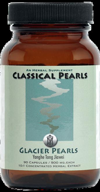 "Classical Pearls ---  ""Glacier Pearls --- TCM Lung Support Formula - 90 Veggie Caps"