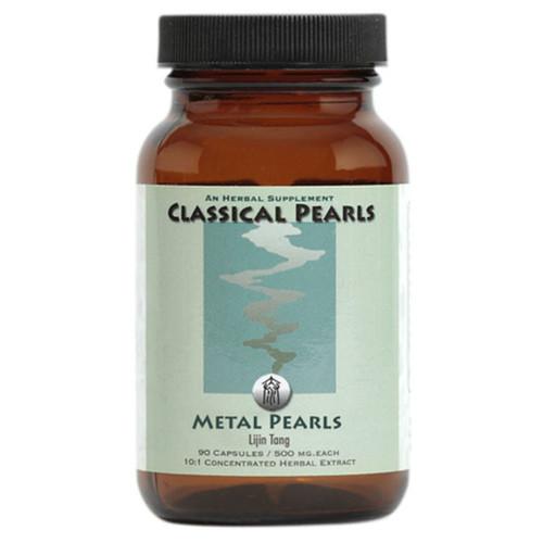 """Classical Pearls --- """"Metal Pearls"""" --- TCM Sinus & Respiratory Health Formula - 90 Veggie Caps"""