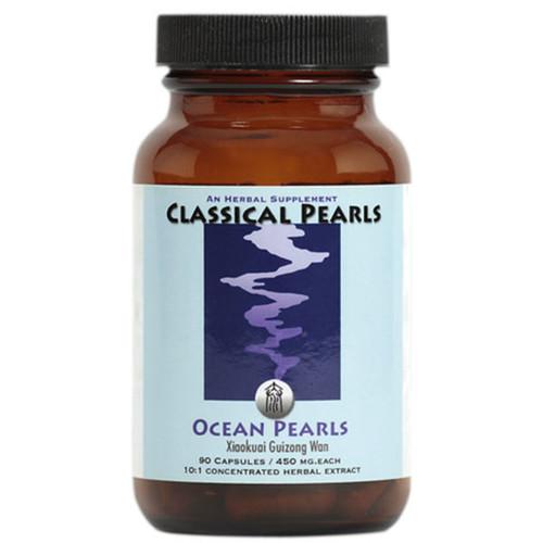 "Classical Pearls --- ""Ocean Pearls"" --- TCM Pelvic Organs Support - 90 Veggie Caps"