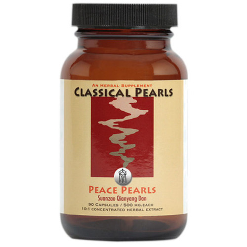 """Classical Pearls --- """"Peace Pearls"""" --- TCM For Palpitations & Dysautonomia  Support - 90 Veggie Caps"""