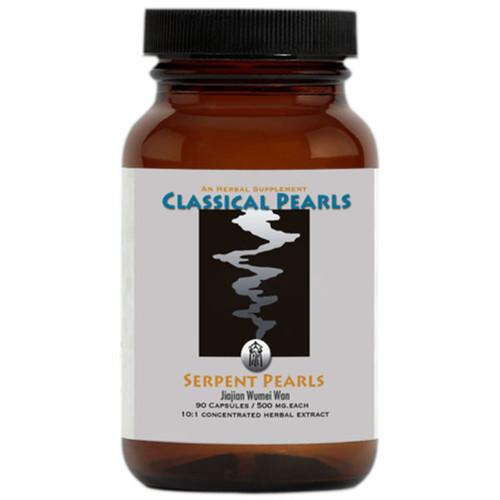 """Classical Pearls ---""""Serpent Pearls"""" --- TCM Herbal Anti-Parasitic Formula - 90 Veggie Caps"""