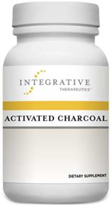 """Integrative Therapeutics  ---  """"Activated Charcoal""""  ---  Toxin Binder - 100 Capsules"""