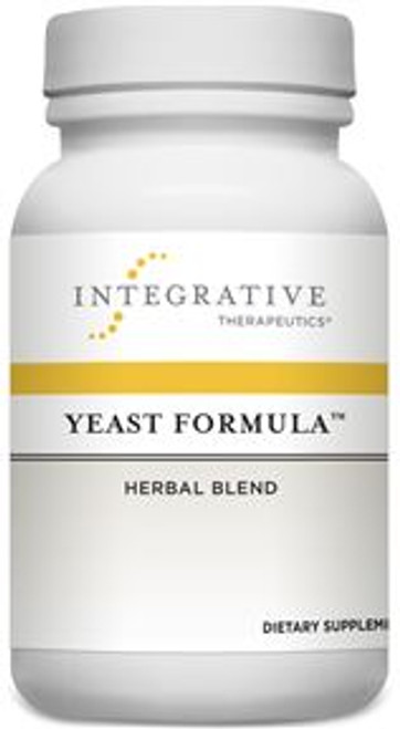 """Integrative Therapeutics  --- """"Yeast Formula"""" --- Yeast Dysbiosis Support With Herbal Blend -  90 Enteric Coated Softgels"""