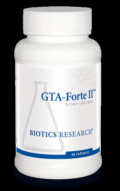 "BIOTICS  --- ""GTA-Forte II™ ""  ---  Thyroid Support - 90 Caps"