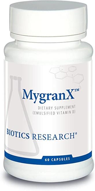 "BIOTICS  ---  ""MYGRANX™""  ---  Brain Health & Headache Support - 60 Tabs"