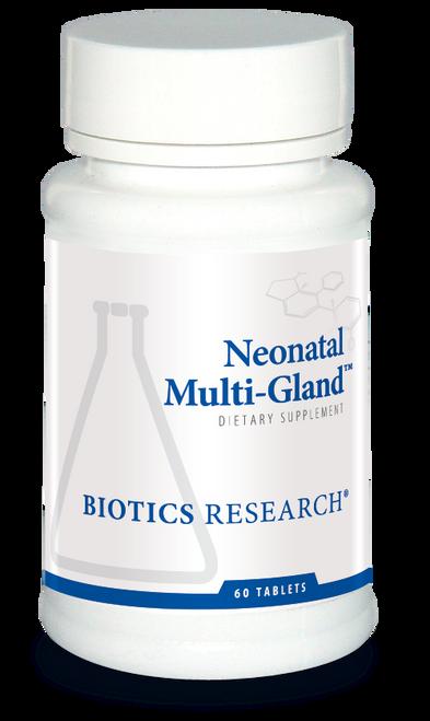 "BIOTICS  ---  ""NEONATAL MULTI-GLAND™""  --- Glandular Immune & Hormone Support -  60 Tabs"