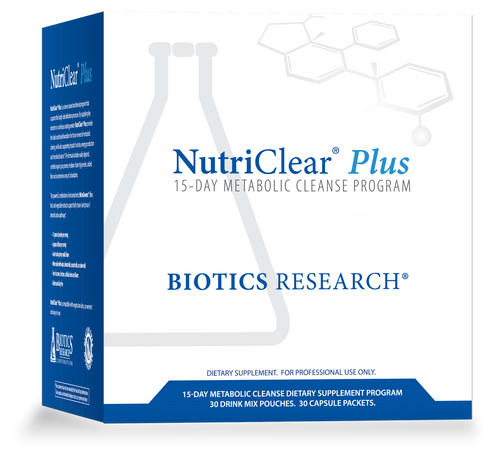"BIOTICS   ---  ""NutriClear® Plus""   ---  Organic  Nutritional Detoxing & Metabolic Cleansing Support - 15 Servings"