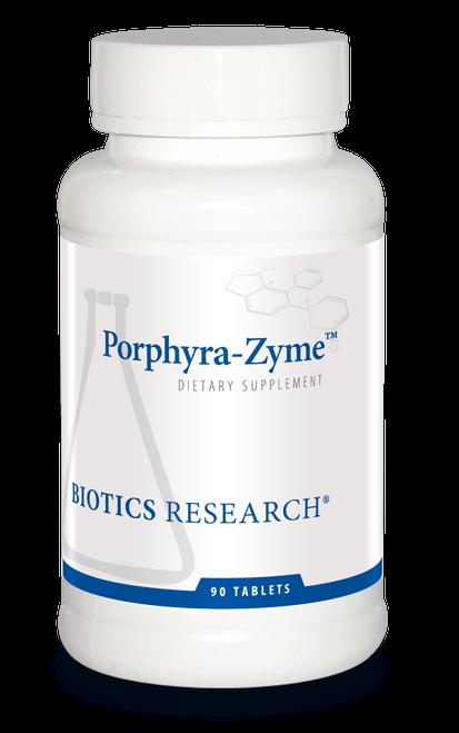 "BIOTICS   ---   ""PORPHYRA-ZYME™""  ---   Porphyrin & Liver Support - 90 Tabs"