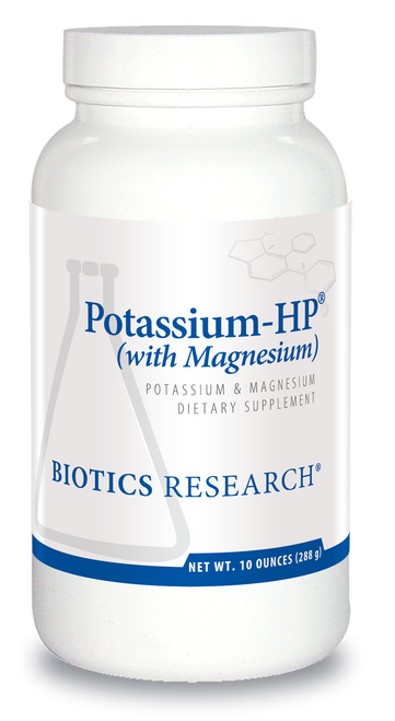 "BIOTICS   ---   ""POTASSIUM-HP® (WITH MAGNESIUM)""   ---   High Potency Potassium with Magnesium --- 60 Servings"