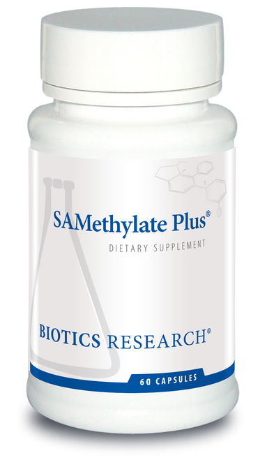 "BIOTICS   ---   ""SAMETHYLATE PLUS™""   ---   Anti-Aging & Mood Support - 60 Caps"