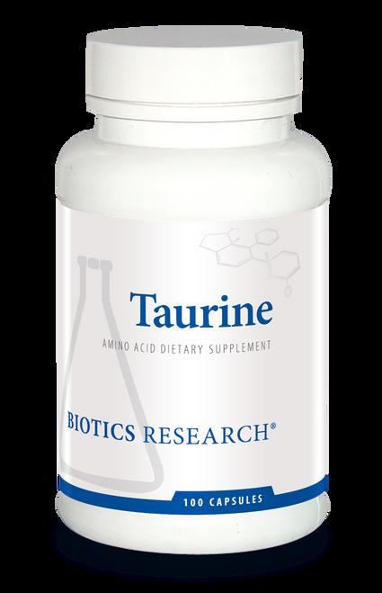 "BIOTICS   ---   ""Taurine""   ---   Phase II Liver Detoxing - 100 Caps"