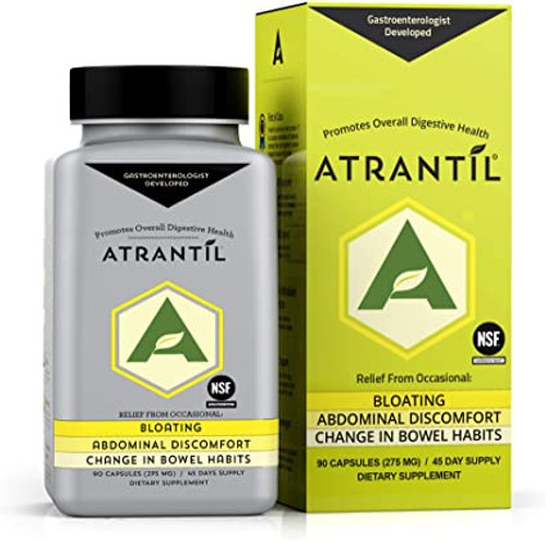 """KBS Research   ---   """"ATRANTIL""""   ---  Bloating & Digestive Support - 90 Caps"""