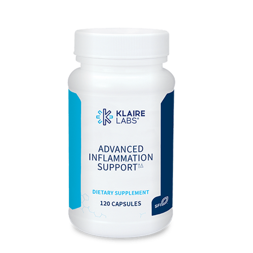 """KLAIRE   --- """"Advanced Inflammation Support"""" --- Inflammation Blocking Support - 120 Caps"""