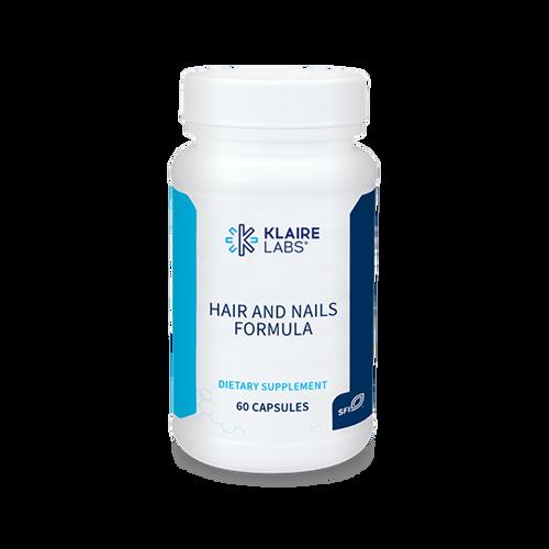 "KLAIRE --- "" Hair and Nails Formula"" --- 10 mg Biotin with Antioxidants - 60 caps"